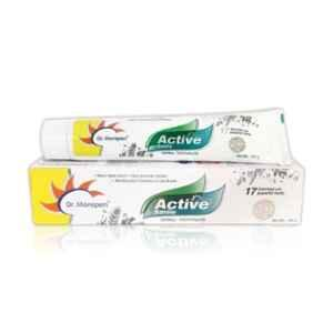 Dr. Morepen 100g Active Smile Herbal Toothpaste