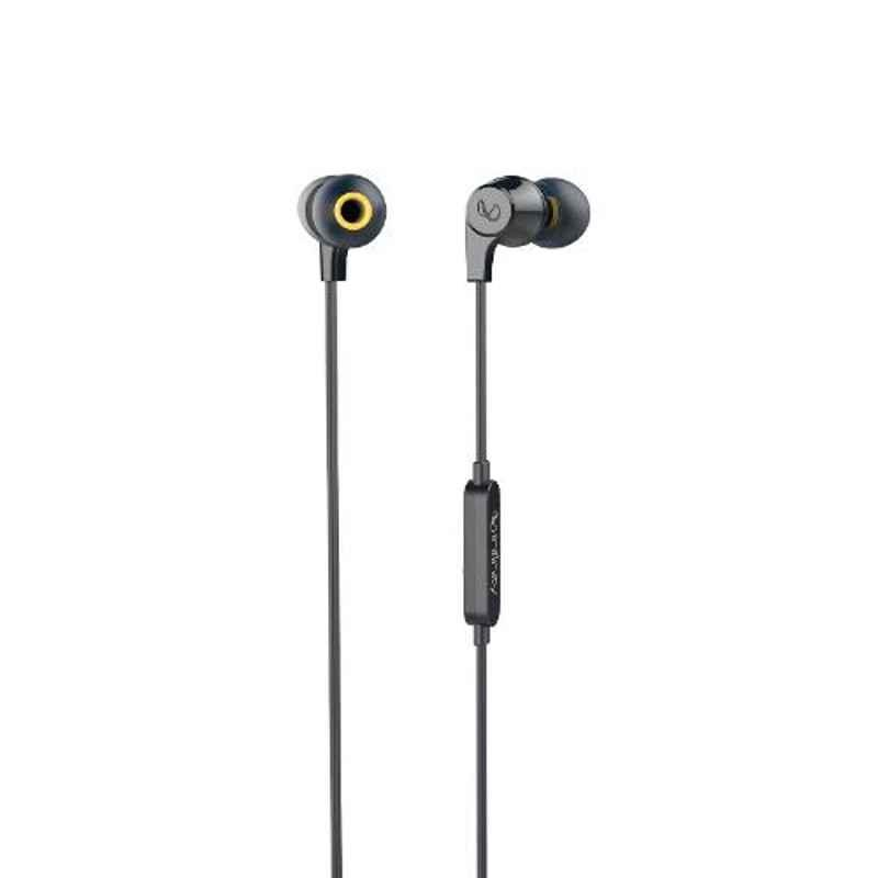 Infinity by Harman Wynd 300 Black Pure Bass in Ear Headphone with Mic, INFWYD300BLK