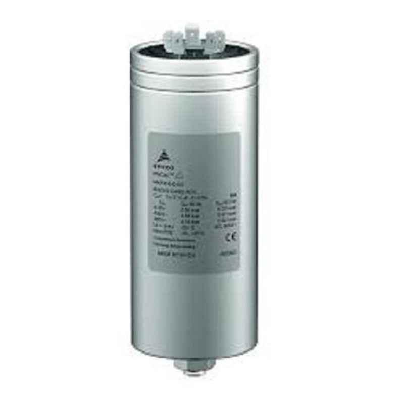 Epcos 3x63.6µF 13.8kVAr Three Phase Round Normal Duty PhiCap Capacitor, B32344B4132A880