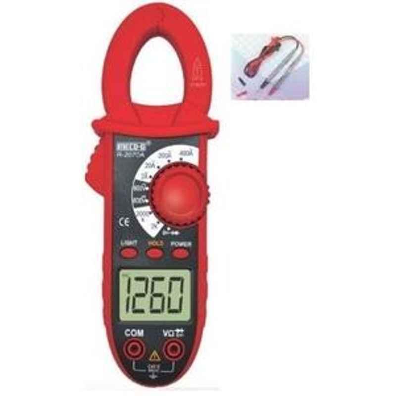 Meco-G R-2070A Digital AC Clamp meter 400 A 600 V