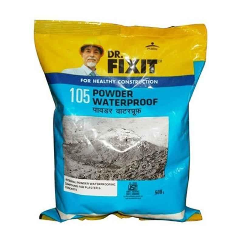 Dr. Fixit 0.5kg Waterproof Powder, 105 (Pack of 20)