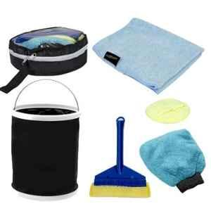 AllExtreme AEFLD16 6 Pcs Exterior & Interior Wash Cleaning Tools Kit
