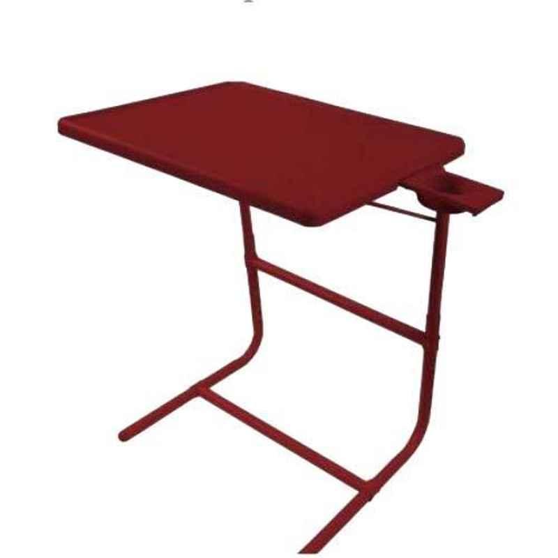 Table Mate 52x65x5cm Plastic Brown Portable Laptop Table, TM001BW_1111