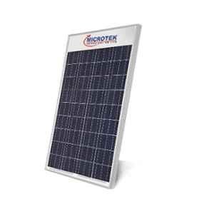 Microtek 150W 12V Multi Crystalline Solar PV Module with 25 Years Warranty