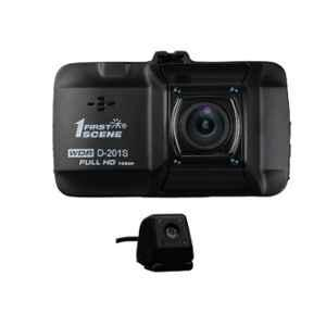 Safe Cams D-201S Dual Dash Camera with Full HD & Anti Shake Video Recorder, RE-355D-RAAY