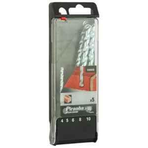 Black+Decker 5 Pcs Double Flute Conical Tip Masonry Drill Bit Set, X56035-QZ