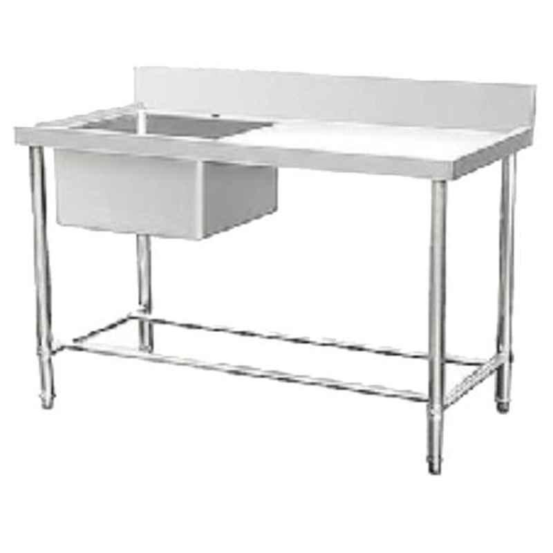 Star Fabricator 900x600x850+100cm Single Bowl with Table Top Stainless Steel Kitchen Sink