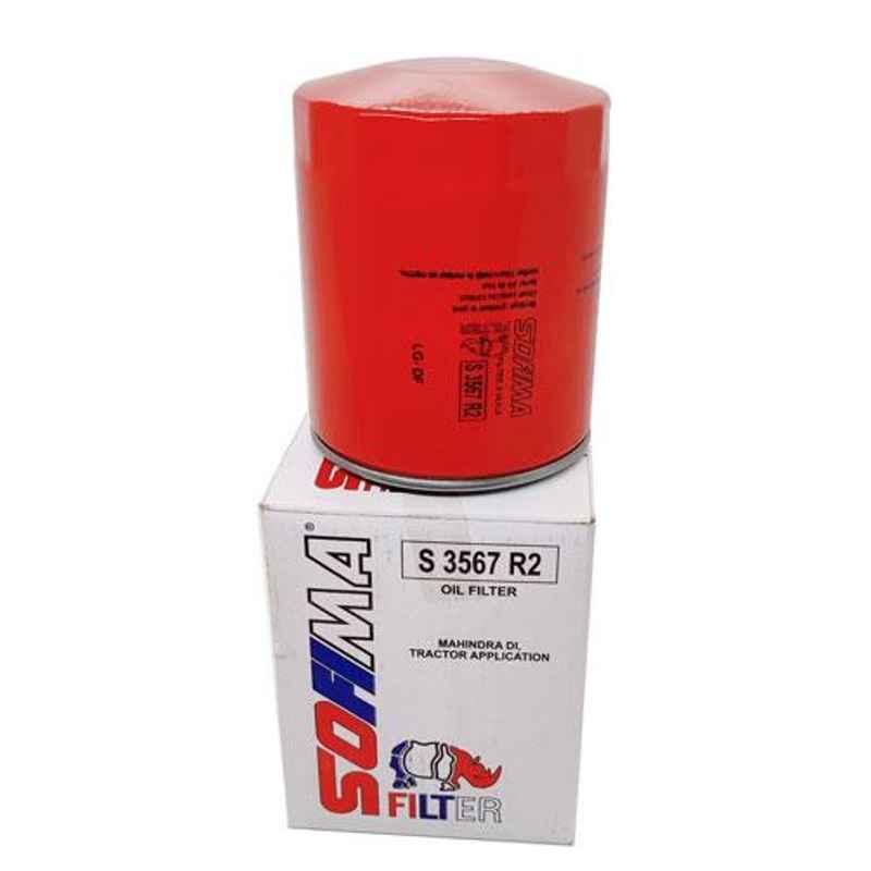 Sofima Oil Filter for Mahindra DI Engine, S3567R2