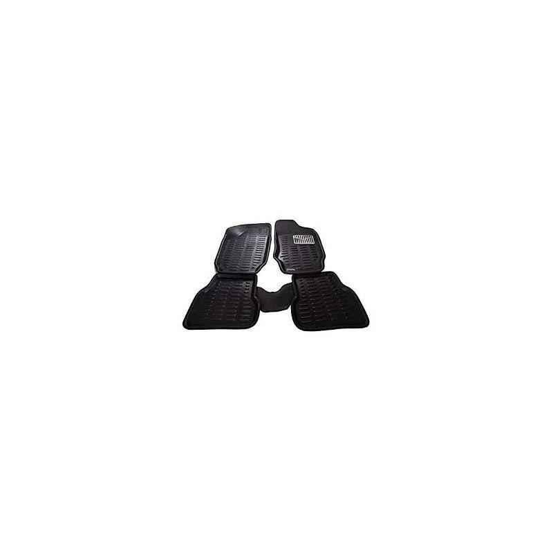 Oscar 3D Black Foot Mat For Tata Indica V2 Set
