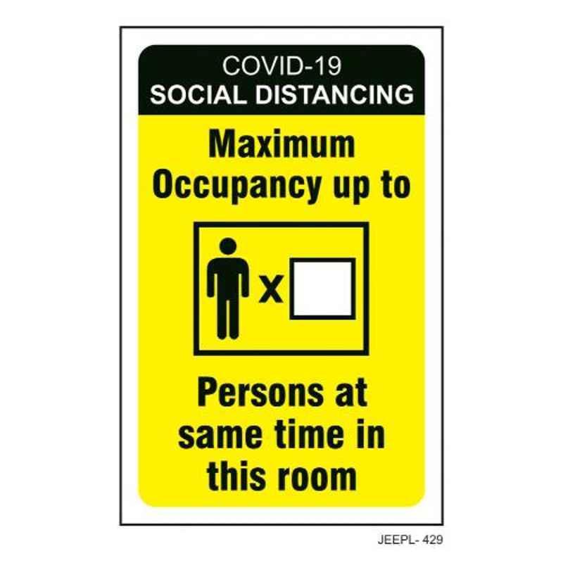 Jeepl Covid19 Social Distancing Sticker, jeepl-429