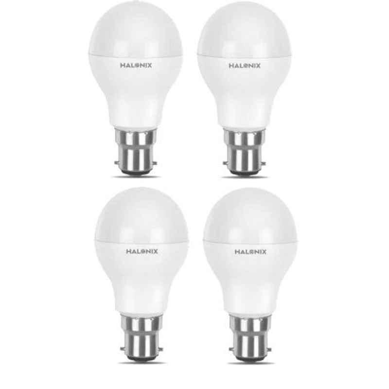 Halonix Astron Plus 10W B22 Cool Day White LED Bulb, HLNX-AST-10WB22CW (Pack of 4)