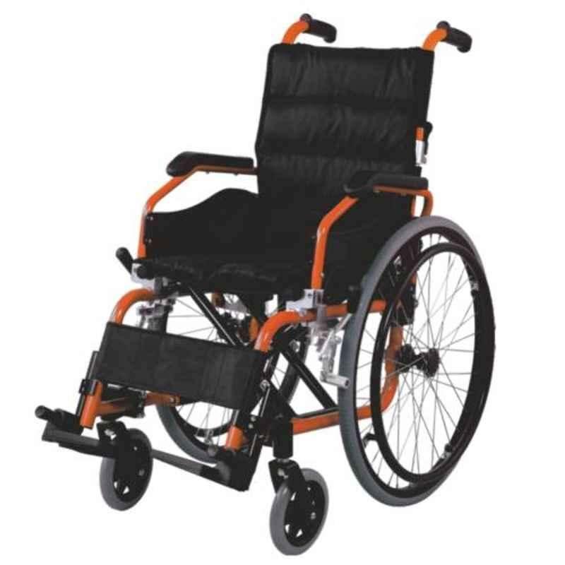 Easycare 100kg Aluminum Children Wheelchair with Foldable Backrest, EC980LA