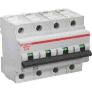 Indoasian Optipro 100A Four Pole AC Circuit Breaker, 811244
