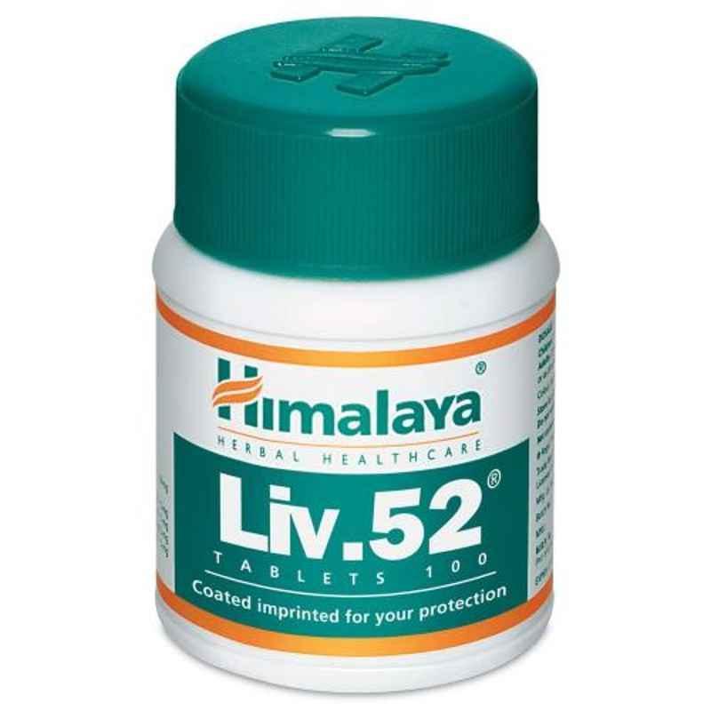 Himalaya100 Tablets LIV 52 (Pack of 2)