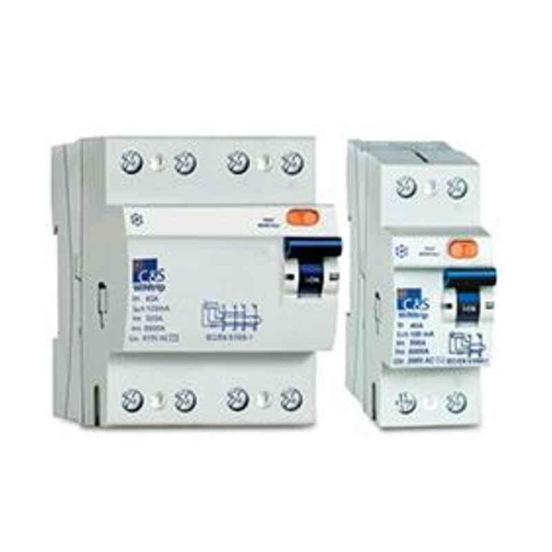 C&S 16A 2 Pole 10kA WiNtrip RCCB, CSRB2P16A30-10kA