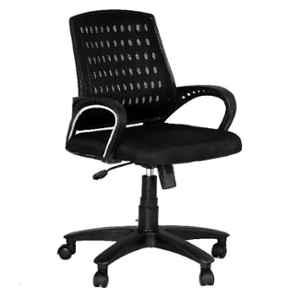 High Living Eezy Black Mesh Office Chair