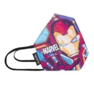 Airific Marvel Small Ironman Grid Face Covering Mask, NI1771