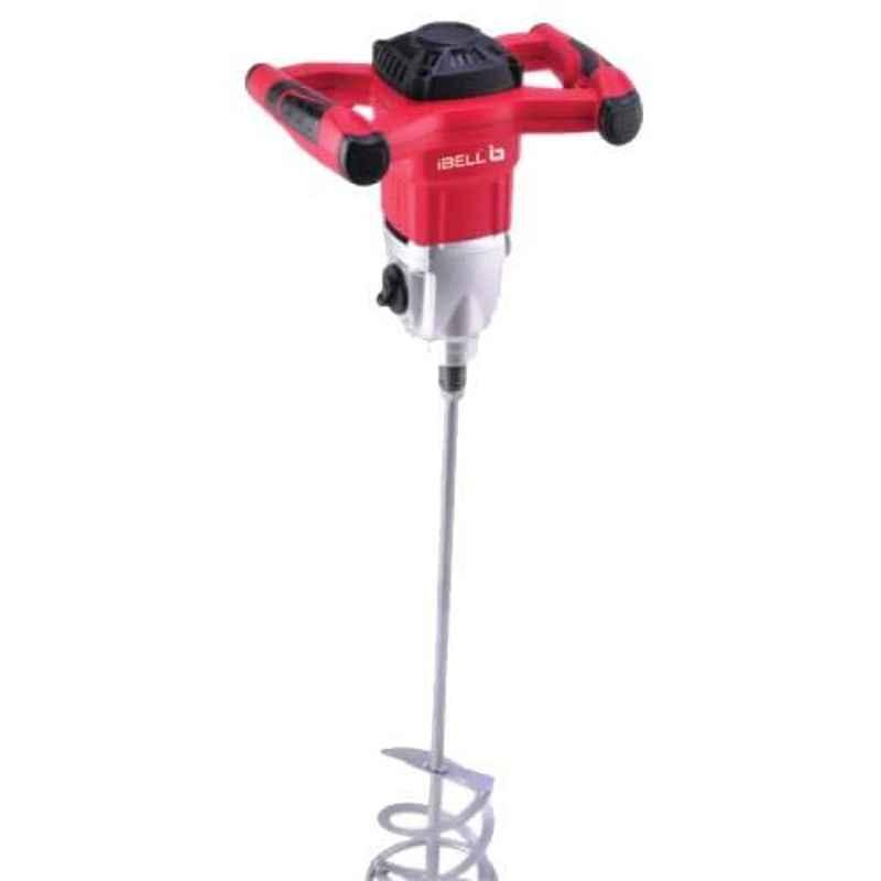 iBELL 1600W Red Heavy Duty Electric Putty Mixer