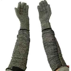 Tec feel 16 inch Yarn Knitted Cut Resistant Hand Gloves