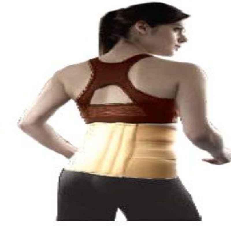 Vissco M 10 inch Double Strap Back Support Sacro Lumber Belt