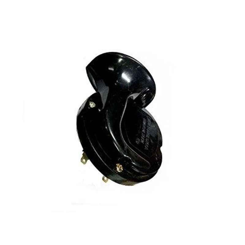 AOW Windtone Horn for Bajaj Discover 100 (Single, Black 12 V)