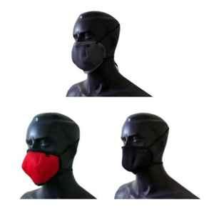 Adventure Worx FacePro 95 6 Layers Assorted Reusable Face Mask (Pack of 3)