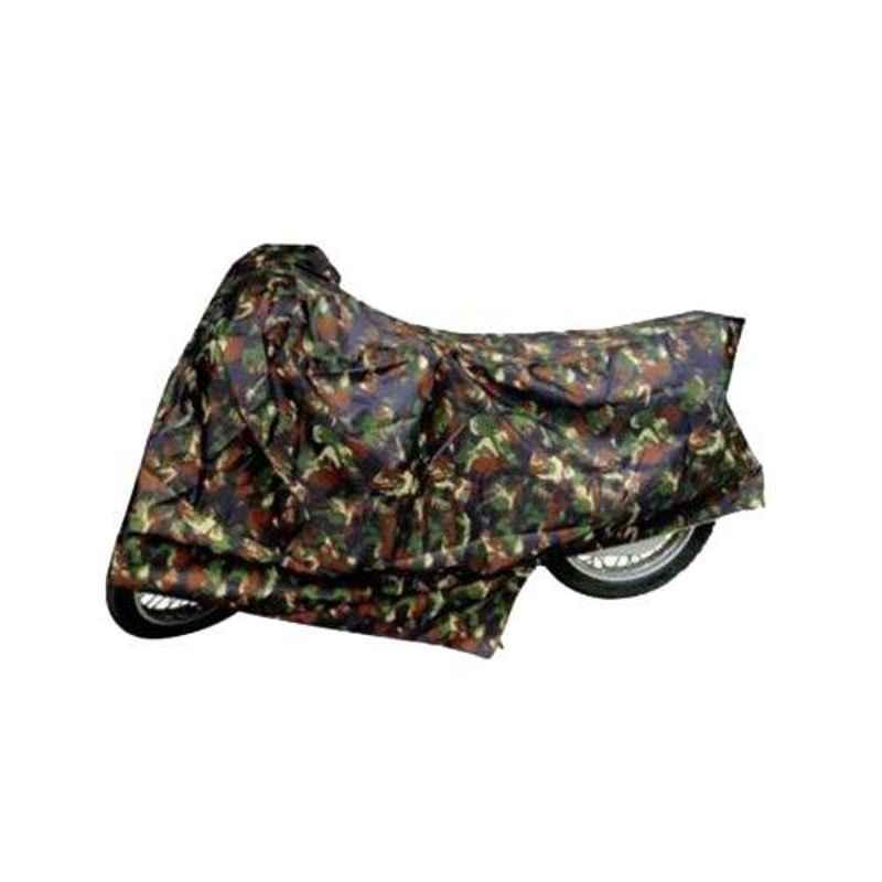 Uncle Paddy Jungle Two Wheeler Cover for Hero Super Splendor