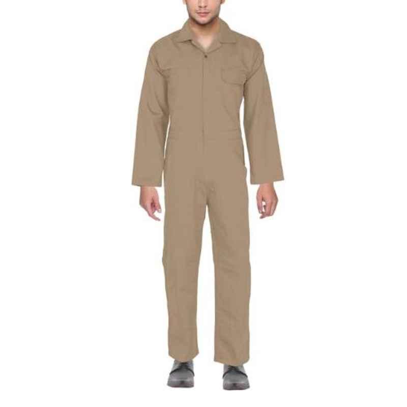 Club Twenty One Workwear Medium Khaki Cotton Boiler Suit for Men