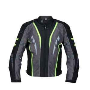 Biking Brotherhood Lady Neon Navigator Jacket, Size: Medium