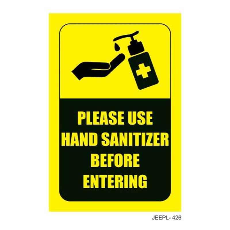 Jeepl Please Use Hand Sanitizer Sticker, jeepl-426