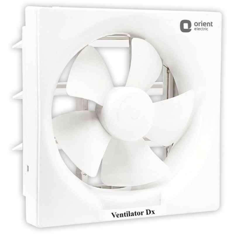 Orient 1250rpm Ventilator Dx White Ventilation Fan, Sweep: 200 mm