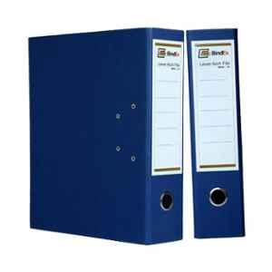 Bindex Blue Laminated Office Lever Arch Box File, BNX10A2-1Blue-L1 (Pack of 2)