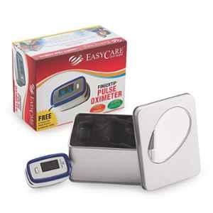 Easycare SpO₂ Blue Fingertip Pulse Oximeter with OLED Display & Anti-Shaking Technology, EC250E