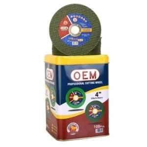 OEM 4 inch Green Double Net Cut-Off Wheel (Pack of 100)