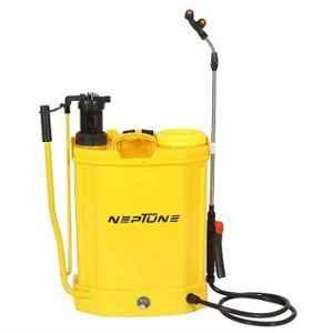 Neptune 16L 12V Yellow 2-in-1 Battery Operated Knapsack Garden Sprayer, BS-21