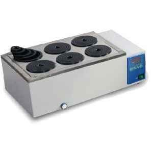 Remi RWB -6 Digital Water Bath-6 Hole with 6 concentric adapters