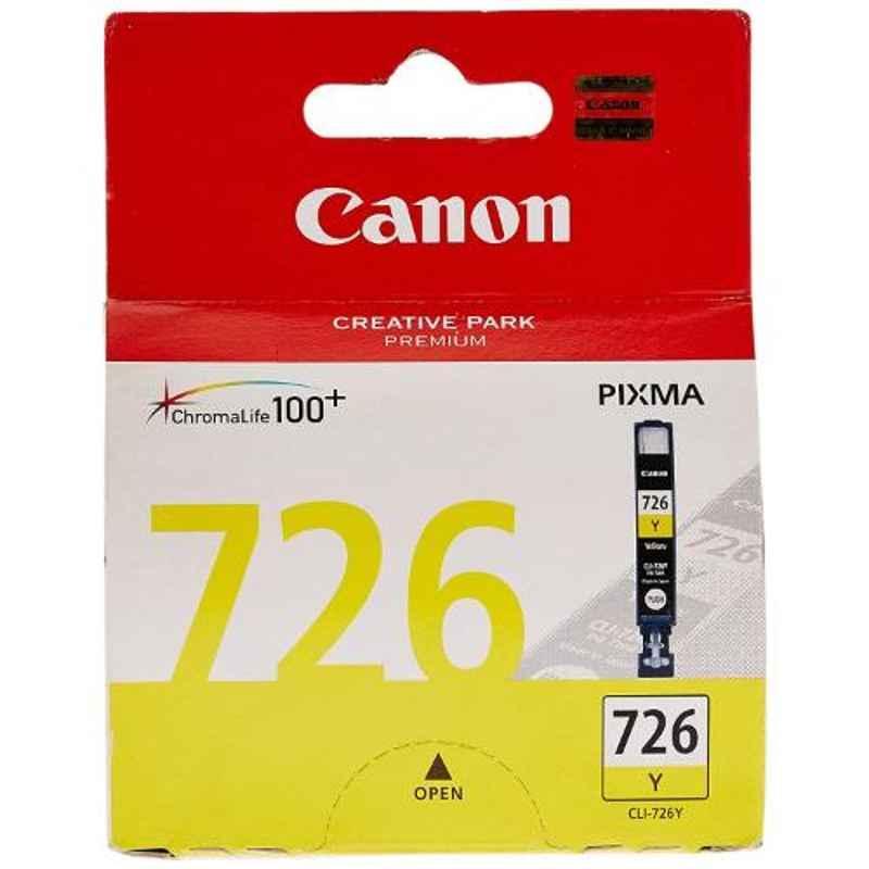 Canon Pixma CLI-726Y Yellow Ink Tank Cartridge