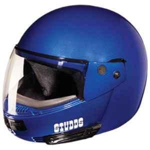 Studds Ninja Flame Blue Pastel Flip-Up Helmet, Size: (XL, 600 mm)