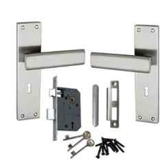 Atom G-9 Stain Finish Double Stage Mortise Lock Set with 3 Keys