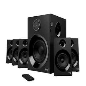 Logitech Z607 Black 5.1 Surround Sound Speaker System with Bluetooth