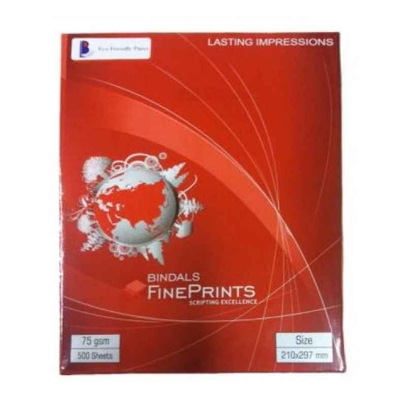 Bindal 75GSM A4 Size Fine Print Papers (Pack of 10)