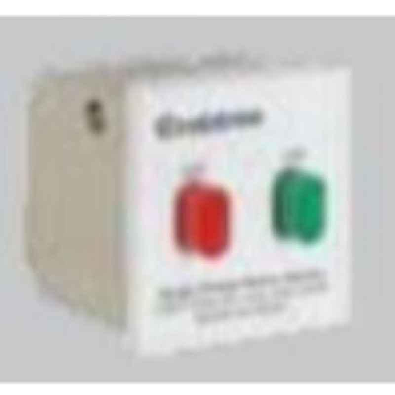 Crabtree Athena C Series 10A 3kA Chalk White Single Pole Mini MCB, DCANCSPA010 (Pack of 12)