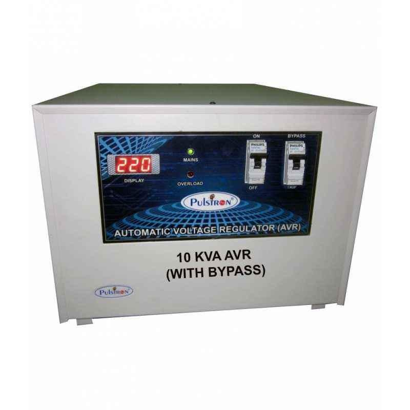 Pulstron PTI-10135D 10kVA Single Phase Mainline Stabilizer