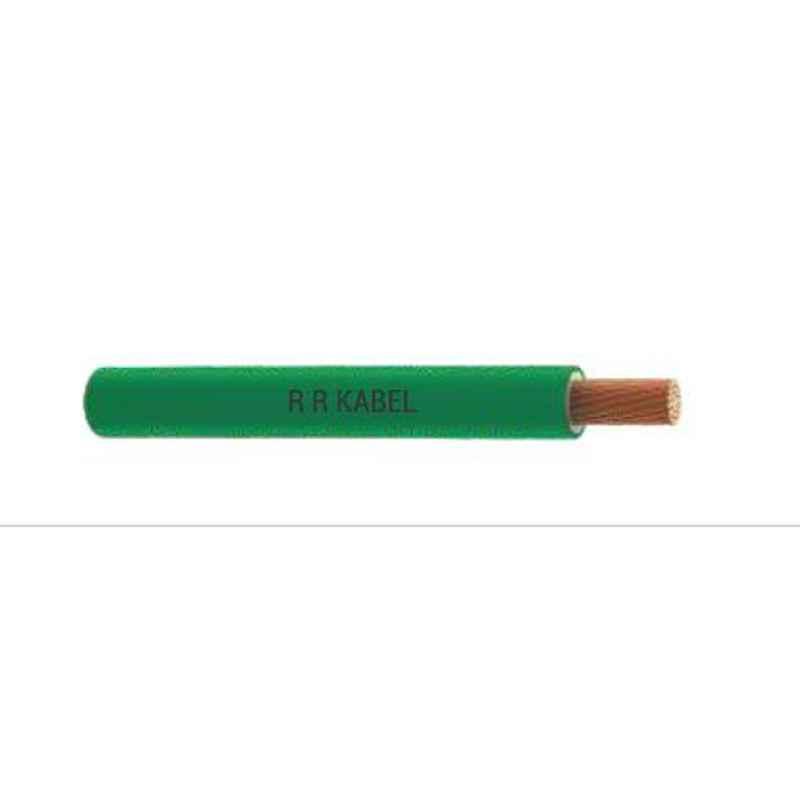 RR Cable 6 sqmm Single Core PVC Blue RR-Unilay FR Flexible Cable, Length: 90 m
