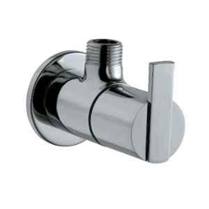 Jaquar Fonte Full Gold Angular Stop Cock with Wall Flange, FON-GLD-40053