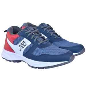 Mr Chief 5024 Blue Smart Sports Running Shoes, Size: 6