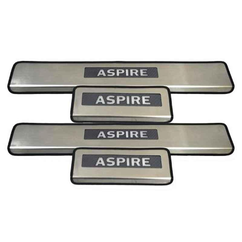 AutoPop 4 Pcs LED Footstep Sill Plate Set for Ford Aspire, FSLD_ASPIRE