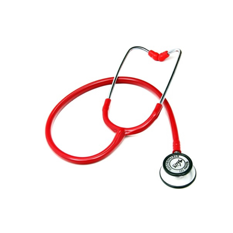 Vkare Ultima Duo Red Dual Bell Stethoscope, VKB0002
