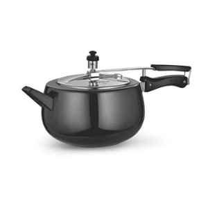 Good Flame 5L Black Hard Anodized Inner Lid Pressure Cooker with Induction Base
