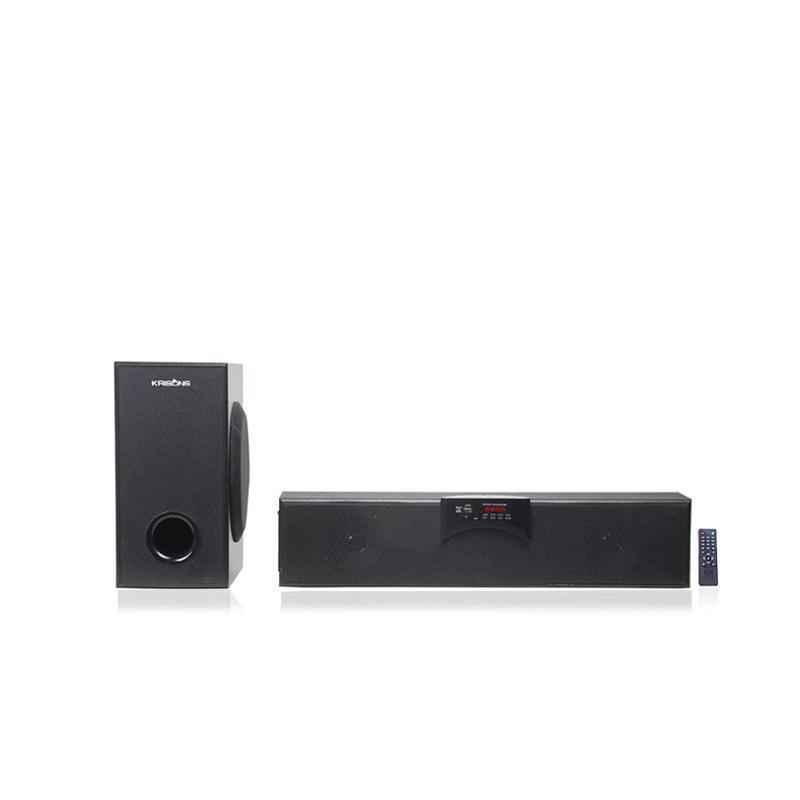 Krisons Magic Beam 2.1 Channel Black Bluetooth Soundbar